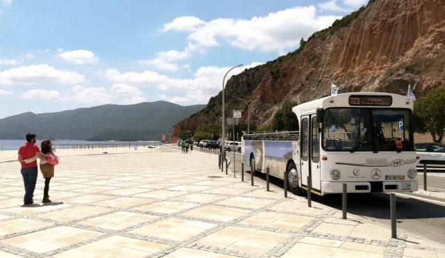 Autocarro Praia da Figueirinha